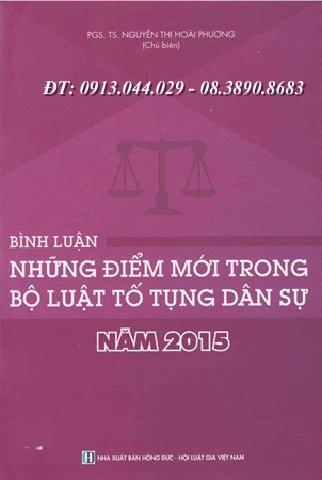 Bình luận những điểm mới trong Bộ luật tố tụng dân sự năm 2015