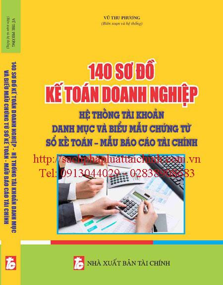 140 Sơ đồ kế toán doanh nghiệp hệ thống tài khoản, danh mục và biểu mấu chứng từ sổ kế toán mẫu báo cáo tài chính năm 2015 (theo thông tư 200/2014/TT/BTC)