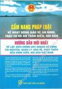 Cẩm nang pháp luật về hoạt động bảo vệ an ninh, trật tự và an toàn biển, hải đảo