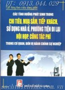 CC TNH HUNG TRONG CHI TIU, MUA SM,TRONG C QUAN, N V HCSN
