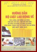 HNG DN B LUT LAO NG V CHNH SCH TIN LNG, MI NHT NM 2013
