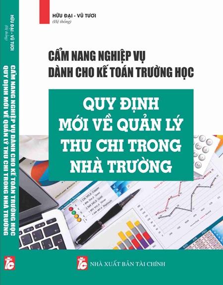 Cẩm nang nghiệp vụ dành cho kế toán trường học quy định mới về quản lý thu chi trong nhà trường