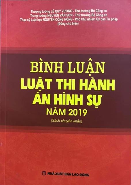 Sách mới - Bình luận luật thi hành án hình sự năm 2019